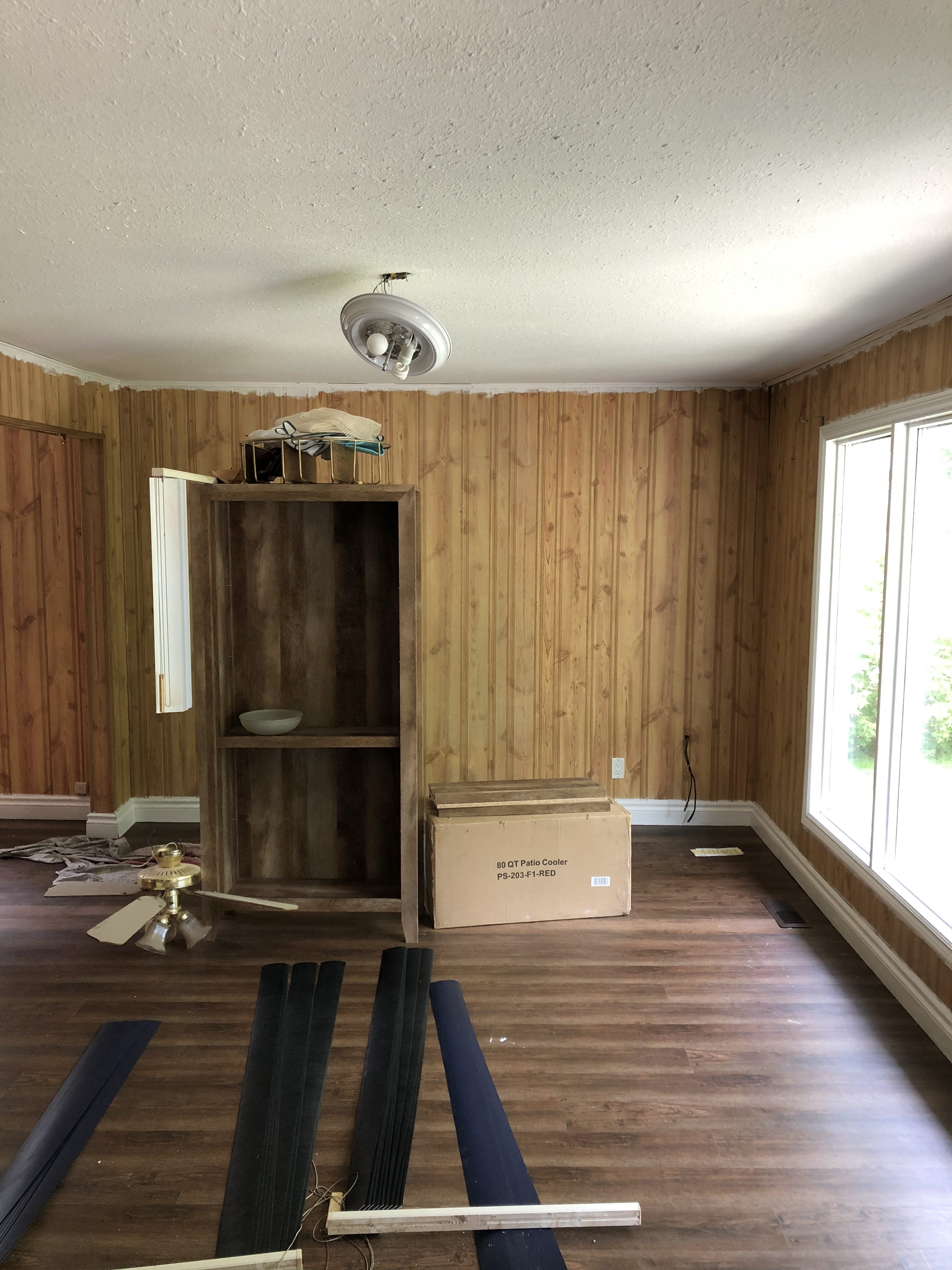 Living Room Design Before