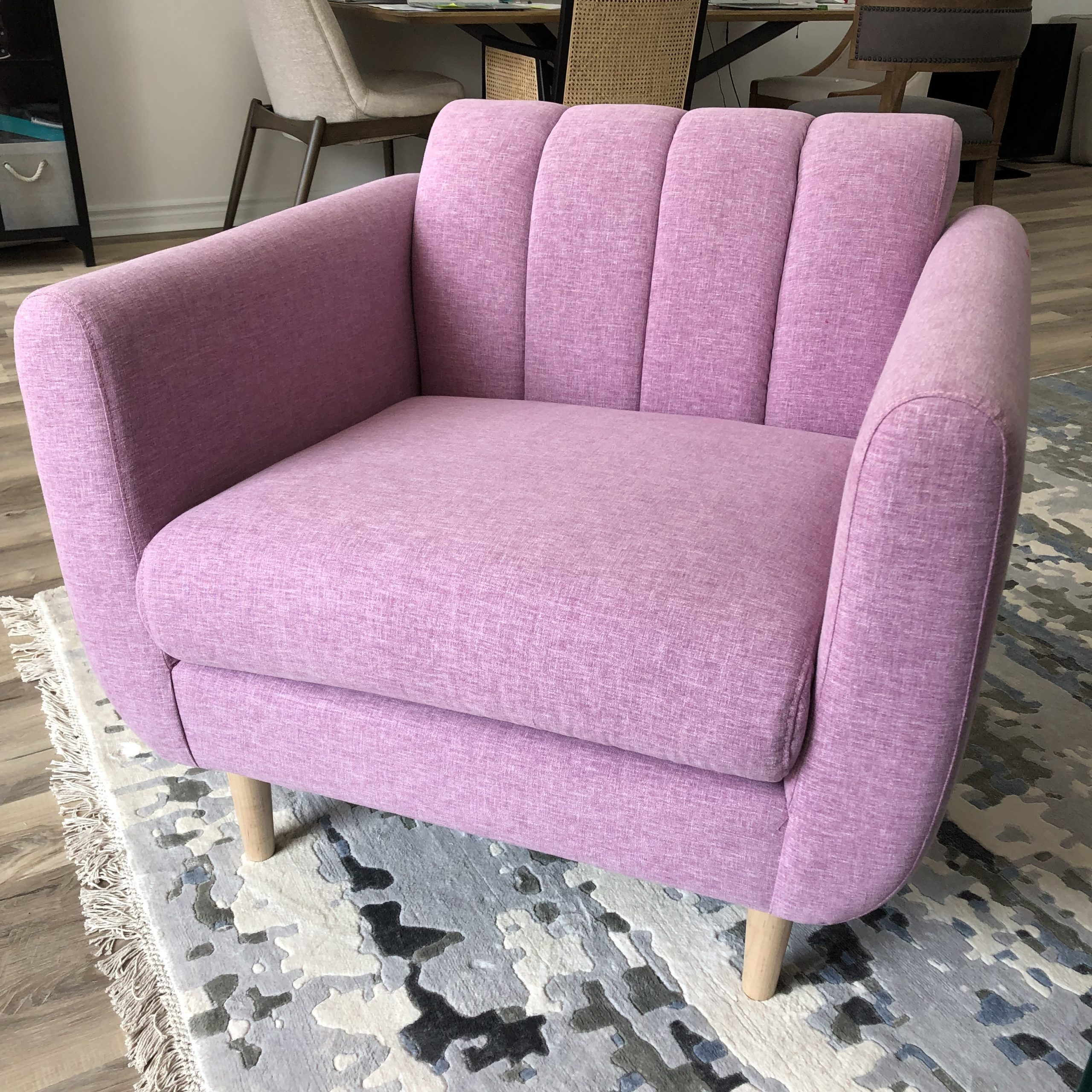 Modern Purple chair from Comfortable Dwelling in Tilbury Ontario