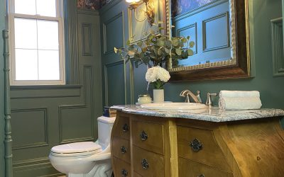 Casa Prestanski Part 1:  The Powder Room