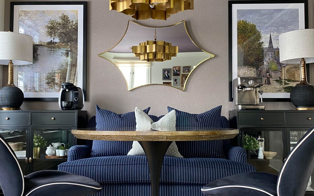 The Colourful & Classy Family Room