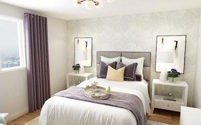 Master Bedroom Design Reveal – Before + After
