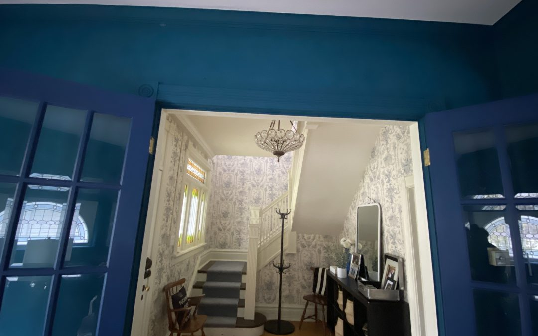 Paint Colour Rationale in our Chatham Victorian by Interior Designer:  ORC Week 2
