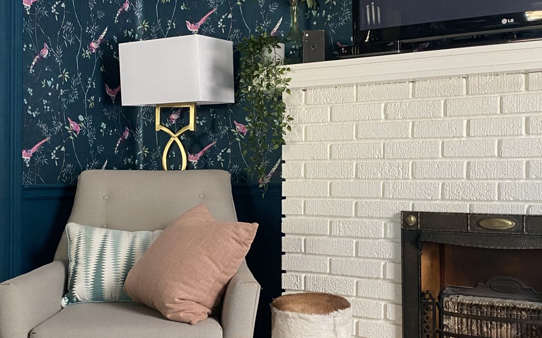 Interior Decorating in Our Parlour: 4 Steps to Getting Your Lighting Just Right