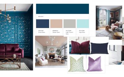 Casa Prestanski Parlour:  One Room Challenge Week 1